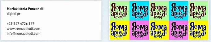 romaapiedi.com contatti