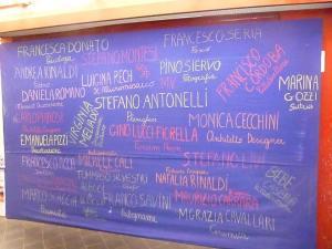 Tableaux realizzato da Mariavittoria Ponzanelli