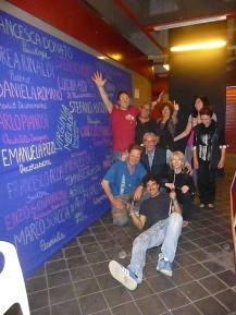 Gruppo OpenLabMonti con Fabbro