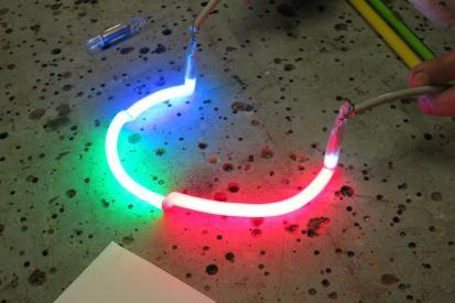Illuminazione al neon