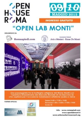 OpenLabMonti Locandina